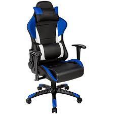 tectake chaise fauteuil siège de bureau racing sport ergonomique