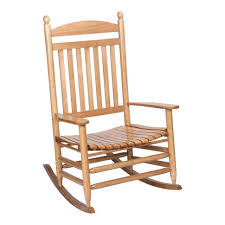 outdoor null bradley maple jumbo slat patio rocking chair childs