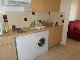 cuisine avec lave linge photo de inter hotel marseille est cote