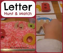letter hunt u0026 match a whole alphabet activity for toddlers