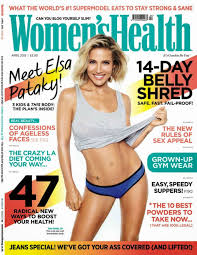 Women Magazine Elsa Pataky Women U0027s Health Magazine Uk April 2015 Issue