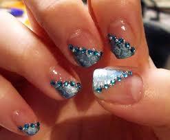 purple and blue nail designs stylish nail polish trends fall