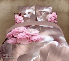 Cotton Queen Duvet Cover Active Printed Pink Floral Bedding Set 100 Cotton Queen Duvet