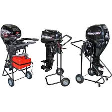 harbor mate outboard motor cart with folding handle discount ramps