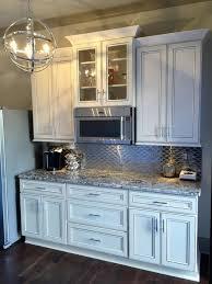 antique white kitchen craft cabinets york antique white kitchen and bath cabinets done by