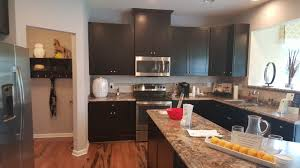decor kitchen design by ryan homes venice with stools and black
