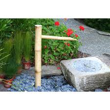 bamboo accents 36 in traditional spout and pump fountain kit