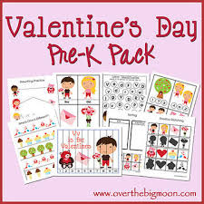 free valentine u0027s day preschool packets and printables parents