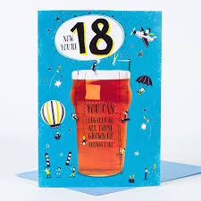 18th birthday card legal only 99p