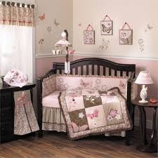 Brown Baby Crib Bedding Best Pink And Brown Crib Bedding Designs Home Inspirations