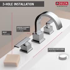 cool bathroom faucets bathroom delta vero two handle widespread bathroom faucet for