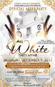 all white party all white party affair visit oxnard
