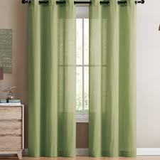 Green Sheer Curtains Seafoam Green Sheer Curtains Wayfair