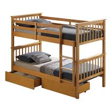 Beech Bunk Beds Artisan Beech Bunk Bed Next Day Select Day Delivery