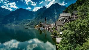 download desktop wallpaper hallstatt austria lake hallstatt alps