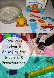 toddler u0026 preschool alphabet activities for letter f natural