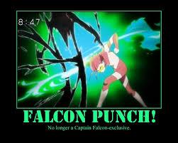 Falcon Punch Meme - falcon punch anime more information