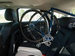 New Focus Interior Interior Bike Rack For A 2012 Ford Focus Hatchback Steve Block