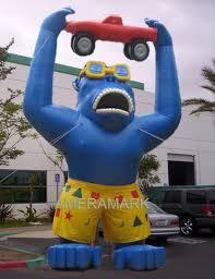 gorilla balloon custom advertising inflatables supply buy custom