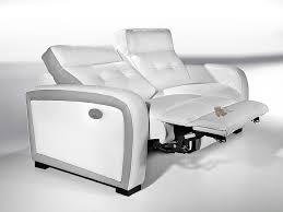 canapes relaxation canap 3 places relax lectrique afl literie of canape electrique