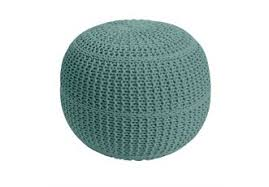 Knitted Ottoman Knitted Ottoman Pouf Benches Ottomans Brylanehome