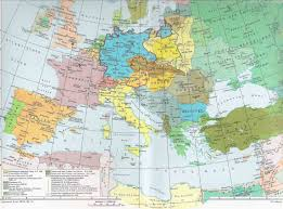 Europe In World War 1 Map by Europe Between The Wars Powerpoint Europe Between The Wars Map