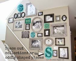 the most efficient way to create a gallery wall bless u0027er house