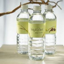 wedding favors unlimited birds personalized water bottles for weddings