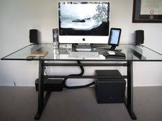 Hide Desk Cables Good 5 Ways To Clean Up Computer Cable Clutter Under Your Desk