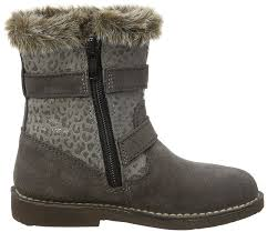 biker boots on sale ricosta girls u0027 zoe biker boots grey meteor 462 shoes authentic