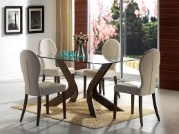 Cheap 5 Piece Dining Room Sets Chair Furniturekraft Fk Catalina 4 Seater Dining Set With Glass