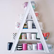 Creative Coffee Mugs 24 Fun And Creative Coffee Mug Organization Ideas Shelves
