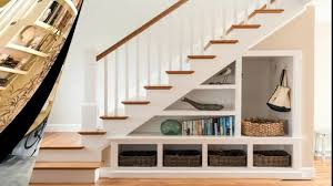 book case ideas under stairs space design ideas understair bookcase and display