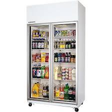 tme1000 skope commercial glass door display bar fridge