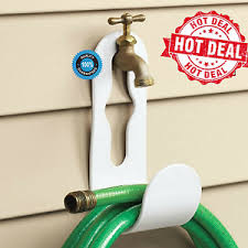 Garden Hose Hanger With Faucet Reel Mount Garden Hose Holder Wall Mount Hose Hanger Home Heavy