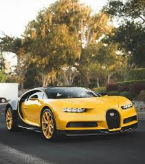 yellow bugatti chiron salomondrin