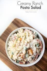Pasta Salad Mayo by Ranch Pasta Salad Family Fresh Meals