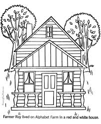 haunted house coloring printable apple coloring