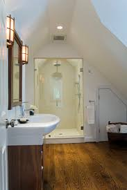 creative attic bathroom for decorating home ideas with attic
