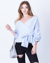 striped blouse sleeves striped blouse 2020ave
