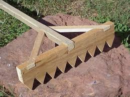 Types Of Garden Rakes - japanese rake garden gravel or sand rake construction finishing