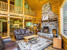 Beautiful Log Home Interiors Beautiful Log Home Near Kirkwood Ski Leas Vrbo