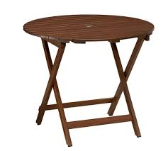 pottery barn bistro table chatham round folding bistro table chair dining set honey