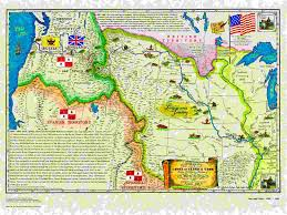 Lewis And Clark Expedition Map American Historical Maps