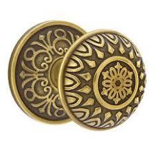Dummy Door Knobs For French Doors - emtek 520rou round knob brass modern privacy knobset flat black