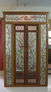 Modern Pooja Room Design Ideas Get These Pooja Room Designs In Glass For Living Room Or Hall