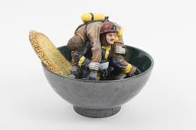 firefighter figurines marketplace the ceramics of new dealers alliance fair 2015
