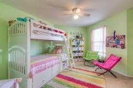 Eclectic Kids Bedroom With Carpet  Ceiling Fan In Kansas City KS - Fan for kids room