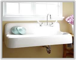 Nib Eljer Unimount Enameled Cast Iron Kitchen Sink  X - Eljer kitchen sinks