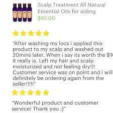 scalp treatment oil butter mix with protein encourages hair growth